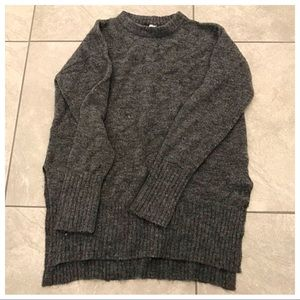 Dark grey woman's sweater